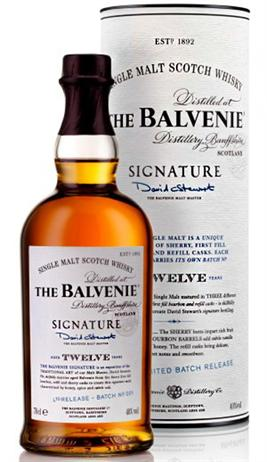 Balvenie Scotch Single Malt 12 Year Signature